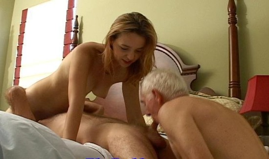 Forces husband suck cock fuck